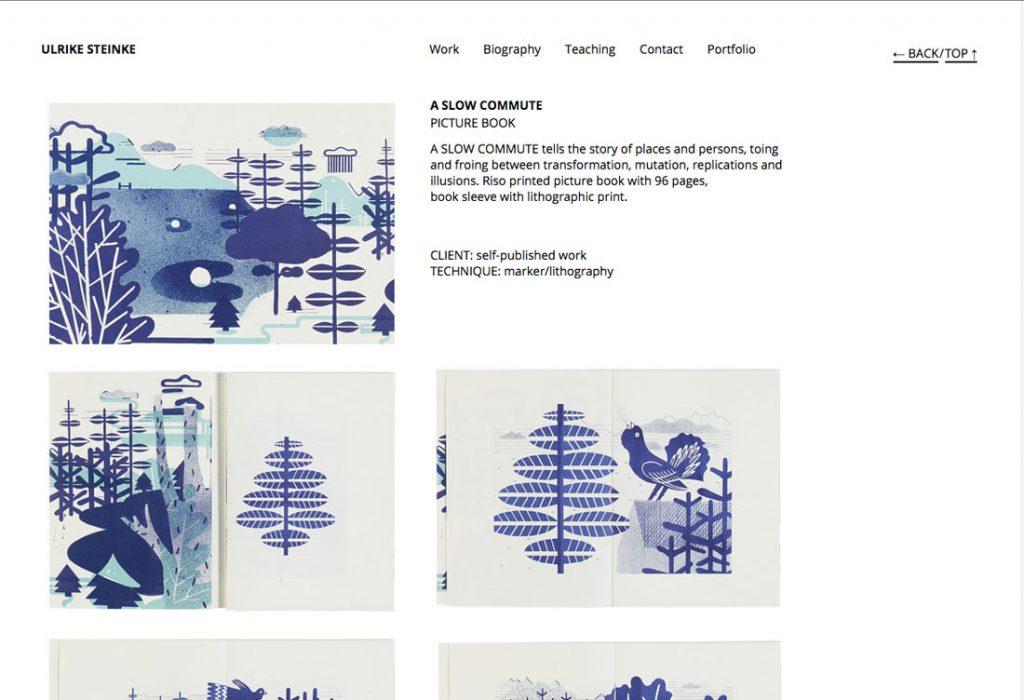 Ulrike Steinke | Gestaltung, Umsetzung – Webfont Open Sans, Responsive Layout, WordPress alsCMS