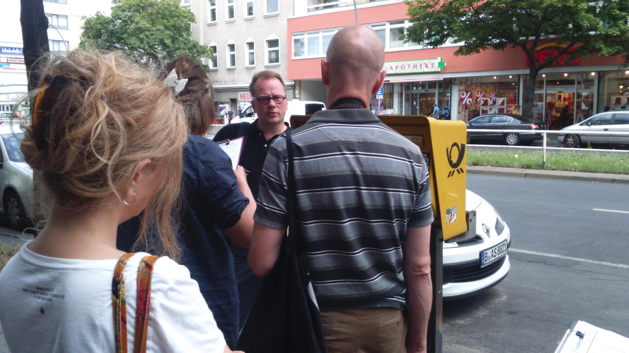 Workshop: Database Derive, Kunstraum Wedding, Berlin