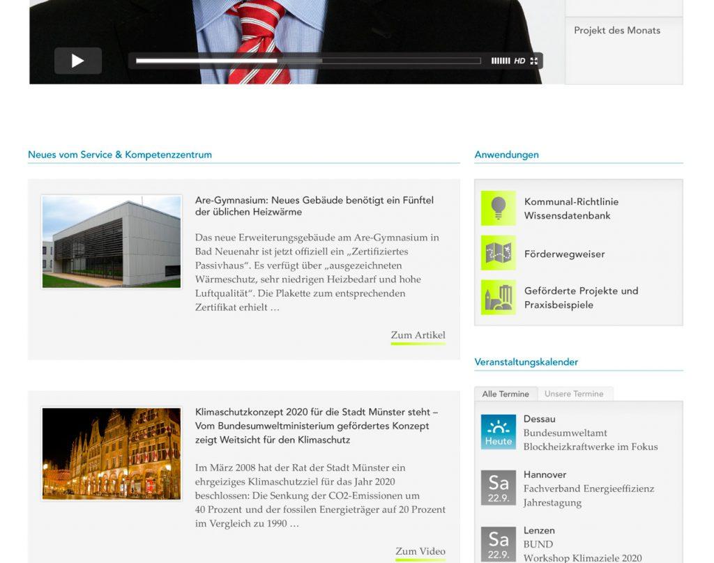 Entwurf »Kommunaler Klimaschutz« (Agentur Mogic, Leipzig) | Gestaltung
