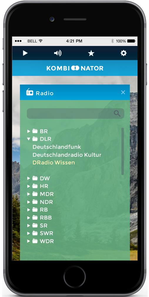 Kombinator – Radiostream